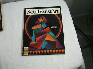 SouthwestArt Magazine  ~ June 1994 ~ Helen Hardin Force Fields / Feathers / Absa