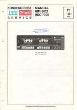 ITT GRAETZ - HIFI 9622 HSC 7700 - Service Manual Schaltplan - B8861