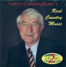 LARRY CUNNINGHAM REAL COUNTRY MUSIC 2 CD SET Irish Country Music