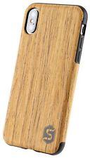 SEBASTIAN STURM Handyhülle MAXI | Echtes Holz auf einer TPU-Hülle diverse Typen