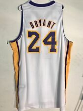 Adidas Swingman NBA Jersey Los Angeles Lakers Kobe Bryant White Alternate sz 2X