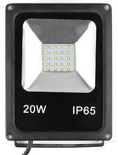 LED Projecteur Lampe Etanche IP65 20W  6000K Blanc Froid Spot Led
