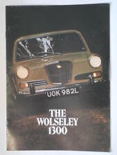 WOLSELEY 1300 MK.II SALOON orig 1973 UK Mkt Sales Brochure - #2852/E