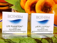 BIOTHERM LIFE PLANKTON Mask Integral Recovery Treatment 60ml =15ml x4pcs Sampl