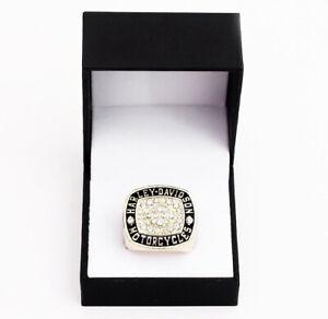 Harley Davidson Motor Cycles Ring Ring Badass Handmade - All sizes