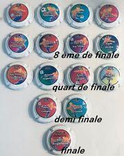 News! Série N°2 Générique 15 capsules Euro Foot 2020 1/8 - 1/4 - 1/2 et finale