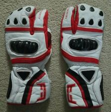 Fuxi Racing Spring Lobster Mittens White Red Black Size Xl Not insulated 9.5