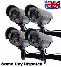 DUMMY FAKE DECOY CCTV SECURITY CAMERA WITH FLASHING LED INDOOR OUTDOOR
