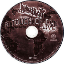 A Touch of Evil: Live by Judas Priest (CD, Jul-2009, Epic)-FREE SHIPPING-