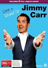 Jimmy Carr - Live & Stand Up (DVD, 2016, 2-Disc Set) - Region 4