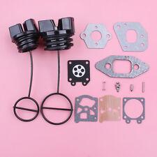 Fuel Oil Cap For Partner 350 351 370 w Carburetor Carb Gasket Repair Rebuild Kit