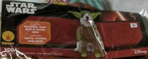 Yoda Dog Halloween Star wars Costume Costume clothing size XL