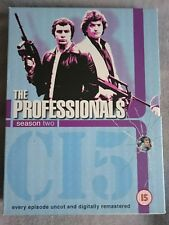 THE PROFESSIONALS Season Two SUPERB CONDITION 70s Action Adventure DVD BOX SET