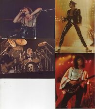 FREDDIE MERCURY QUEEN PHOTOS 1978 SET 4 VINTAGE 40YRS ORIGINAL NEVER SEEN BEFORE