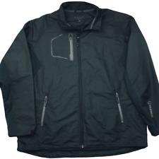 Sunice Men's XL Black Collins Golf Performance Wind Jacket Breaker Coat