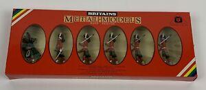 William Britain Metal Toy Soldiers Gordon Highlander & Piper Figures #7239