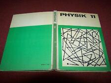 DDR Buch; Physik 11. Schuljahr, Lehrbuch von 1969.