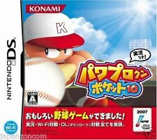 Used DS Konami Power Pro Kun Pocket 10  NINTENDO JAPANESE IMPORT