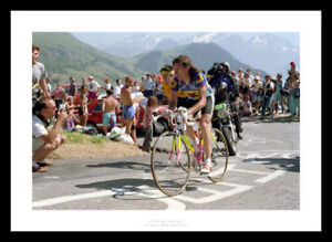 Robert Millar 1990 Tour de France Cycling Photo Memorabilia (3621)