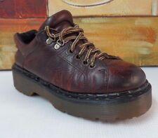 Vintage DOC DR. MARTENS Black Leather Buckled Mary Jane Shoe England UK 5 /US 7