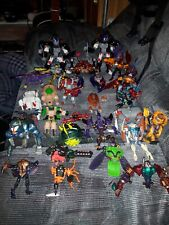 Beast wars transformers lot huge  , Lots of parts and bots , Optimus, Rampage,