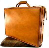 "Vintage HARTMANN Luggage ""Belting"" Leather Briefcase Attache with KEYS Executive"