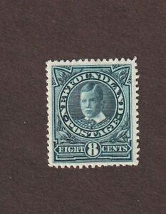 Newfoundland, 110, MH, blue paper colored through, 1911, Prince George CV $80.00