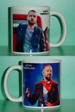Justin Timberlake - with 2 Photos - Designer Collectible Gift Mug 04