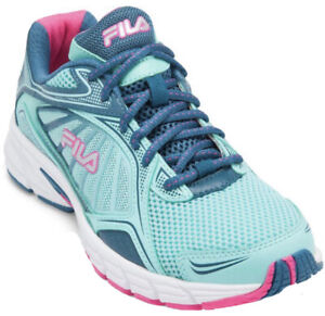 Fila Sneakers Royalty 3 Women's Running Shoes Teal/Pink Size 9 $109 Brand New!