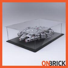 ONBRICK LEGO 75105 75212 Millennium Falcon 3mm Premium Acrylic Display Case
