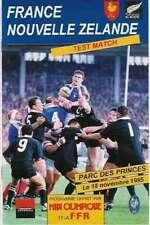 Francia / Nuova Zelanda 1995 seconda prova RUGBY PROG 18A NOV