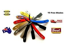 Barber Salon Straight Cut Throat Shaving Razor Shavette Rasoirs +10 Free Blades