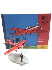 En Avion Tintin l'avion rouge l'ile noire   N8 + livret