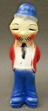 1930's Popeye's WIMPY in red coat carnival chalk chalkware statue figure *