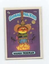 Warmin Norman Garbage Pail Kids Card # 115 A   NEXT DAY SHIP AFTER PAYMENT