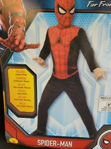 Marvel Spider Man Far From Home BOY Child Costume Size Medium 8 - 10 Rubie's