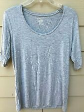 Majestic Paris For Neiman Marcus Gray -  Superwashed  - Top Size 4 - SS