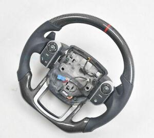 Carbon Fiber Steering Wheel For Land Rover Range Velar (No buttons or shifter)