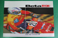 BETA ARK AIR COOLED 50  OPUSCOLO DEPLIANT BROCHURE RECLAME PROSPEKT