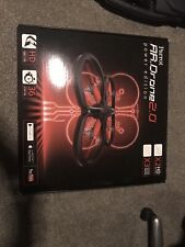 Parrot ar drone 2.0 with extra propellers and box