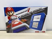 Nintendo 2DS Electric Blue 2 Limited Edition with Mario Kart 7 pre-installed B