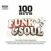 Various - 100 Hits Funk & Soul (2013)  5CD Box Set  NEW/SEALED  SPEEDYPOST
