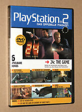 PS 2 oficial revista demo DVD Drakengard 2 Sword of Etheria Black etc 03/2006