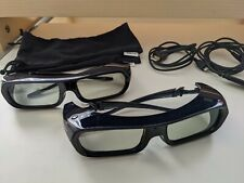 Sony 3D 2 Active Glasses TDG-BR250 USB Rechargeable Black