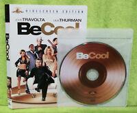 Be Cool (DVD, 2005, Widescreen)Vince Vaughn, John Travolta, Uma Thurman
