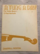 A Tune A Day For Violin Book 1 C Paul Herfurth Vintage 1933