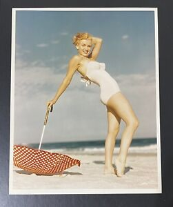 1949 Marilyn Monroe Andre De Dienes Stamp Original Photograph Tobay Beach NY