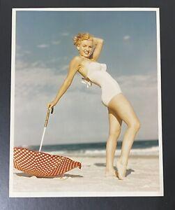 1949 Marilyn Monroe Andre De Dienes Stamp Original Photograph Tobay Beach NY