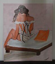 Tableau Art Deco Femme En Vente Livres Anciens De Collection Ebay