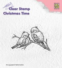 Nellie Snellen claro sello Navidad Aves CT015